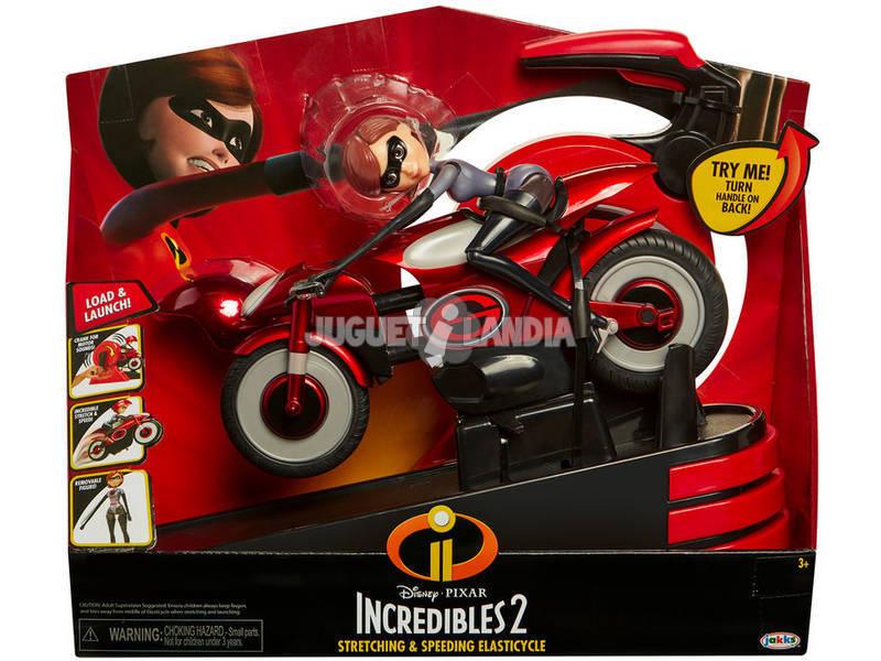 Los Increibles 2 Elastigirl en su Moto Elástica Glop Games 76605