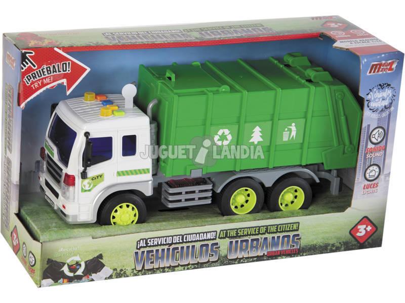 Camion della spazzatura 27 cm.