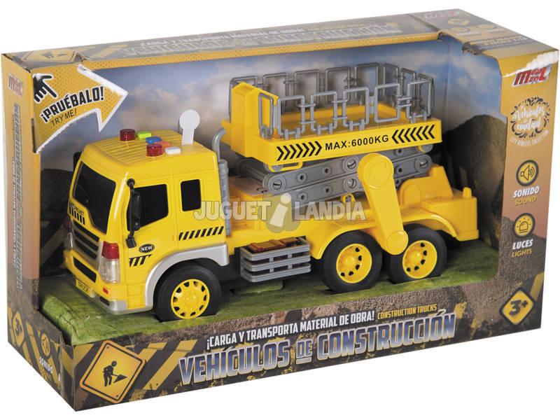 Caminhão Grua 25.5 cm.
