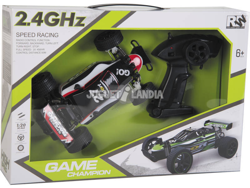 Coche Radio Control 1:20 Champion High Speed Teledirigido