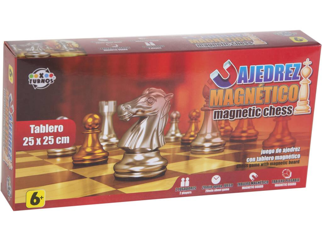 Xadrez Magnético 25x25 cm.