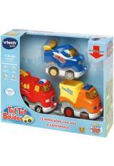 Tut Tut Bolids Véhicules Série Press & Go de 3 véhicules Vtech 249967