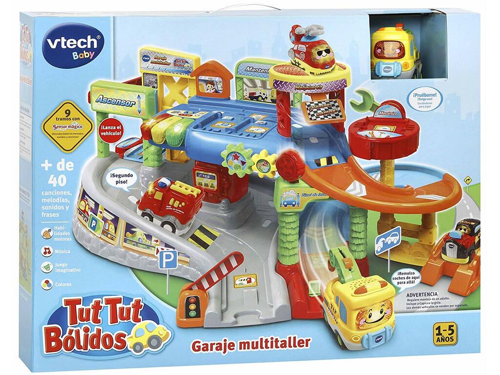 TutTutBolides Garagem Multi oficina com Capicua A Grua Vtech 512722