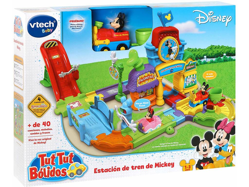Tut Tut Bólidos Estación De Tren De Mickey Vtech 512222
