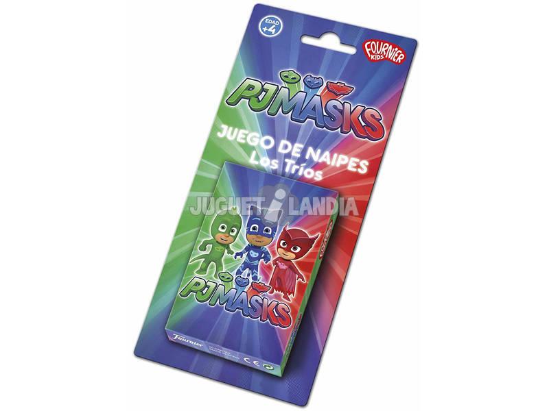 Mazzo di Carte Pj Masks Fournier 1040723