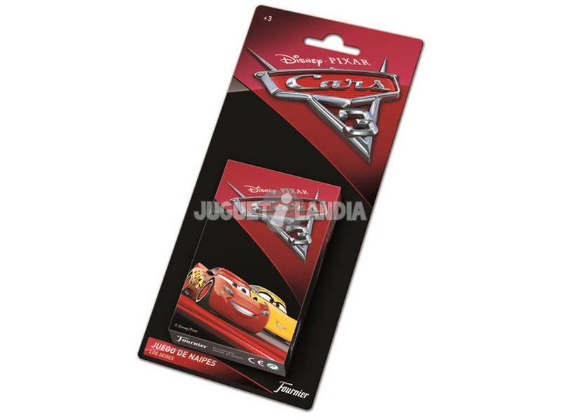 Baralho Infantil Cars 3 Fournier 1034804