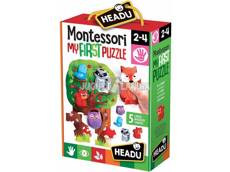 Montessori Mi Primer Puzzle El Bosque Fournier 1041747