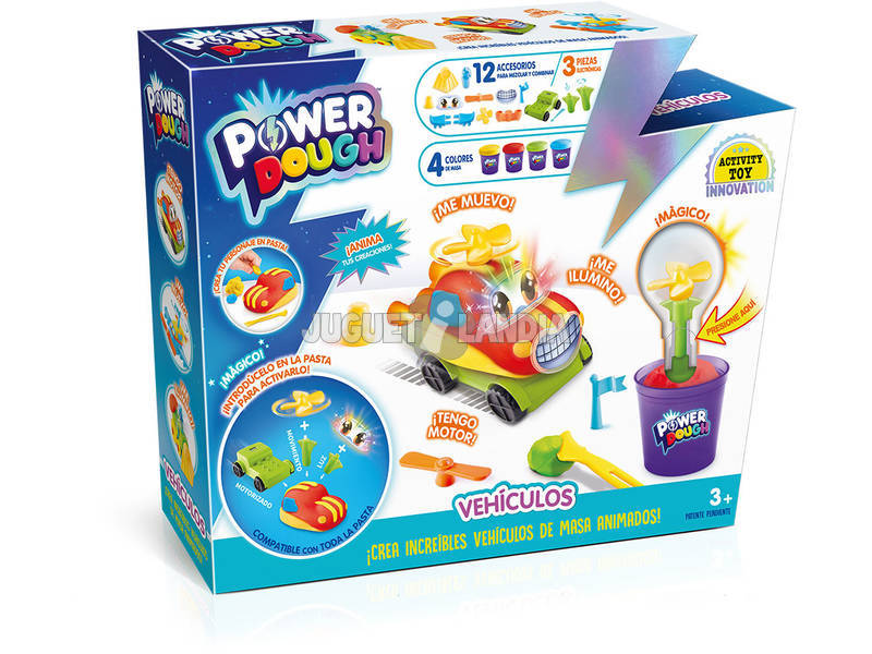 Power Dough Kit Veículos Grande Canal Toys DP017