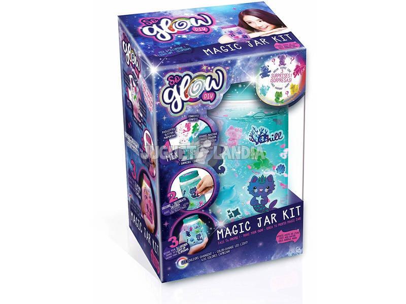 So Glow Magic Jar Kit Cria o teu Frasco da Calma Canal Toys SGD002