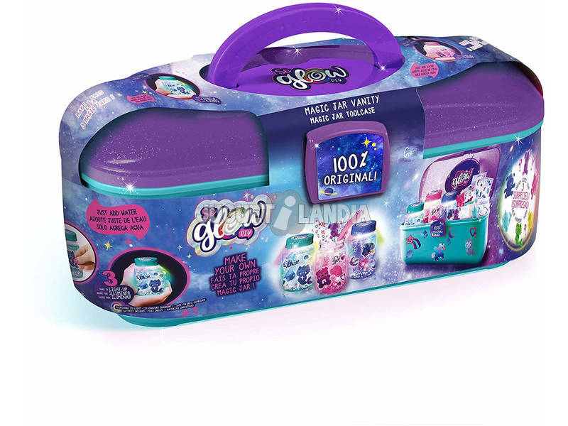 So Glow Magic Jar Maletín Crea tu Bote de la Calma Canal Toys SGD006