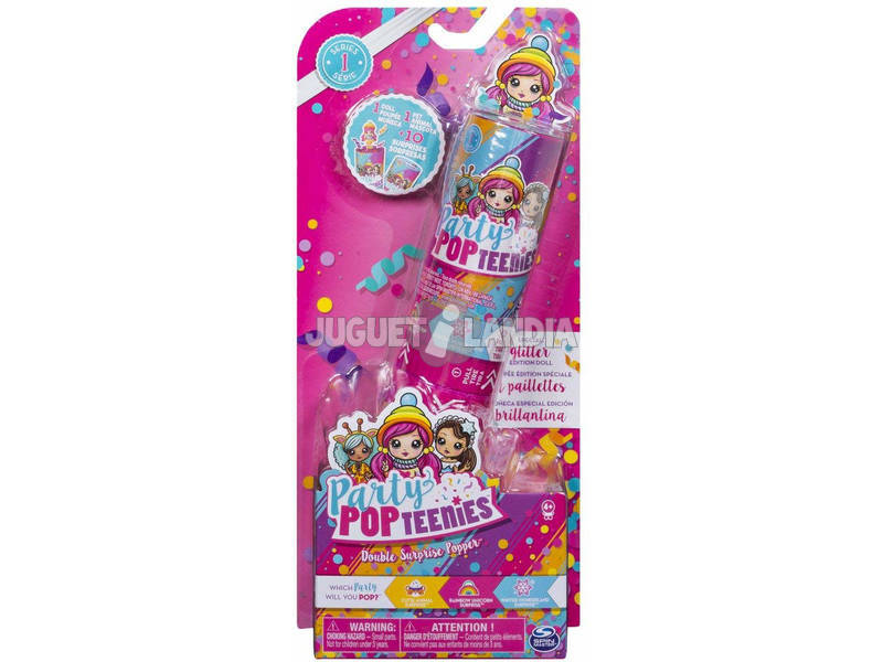 Party pop teenies Lançador Duplo Bizak 61924681