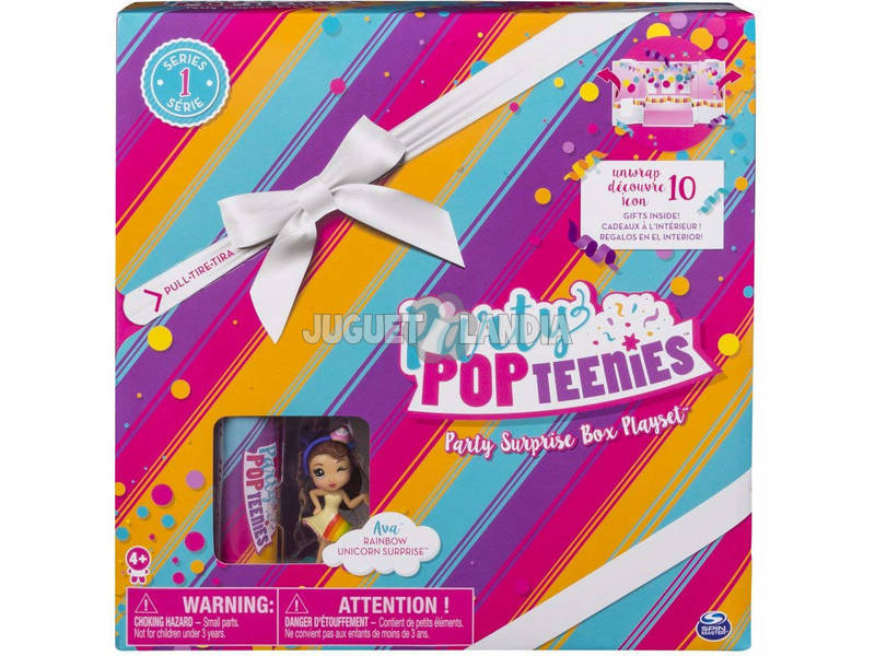 Party Pop Teenies Caixa Surpresa Bizak 61924682