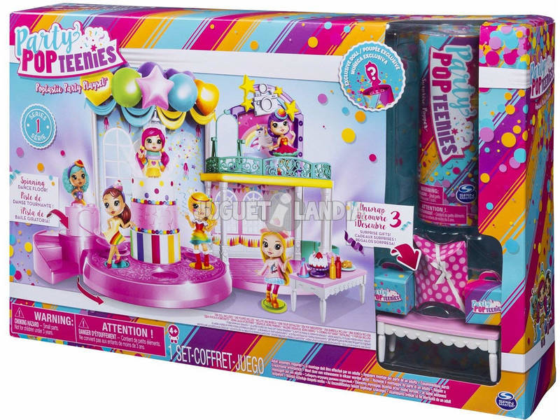 Party pop teenies Playset Festa Bizak 61924683