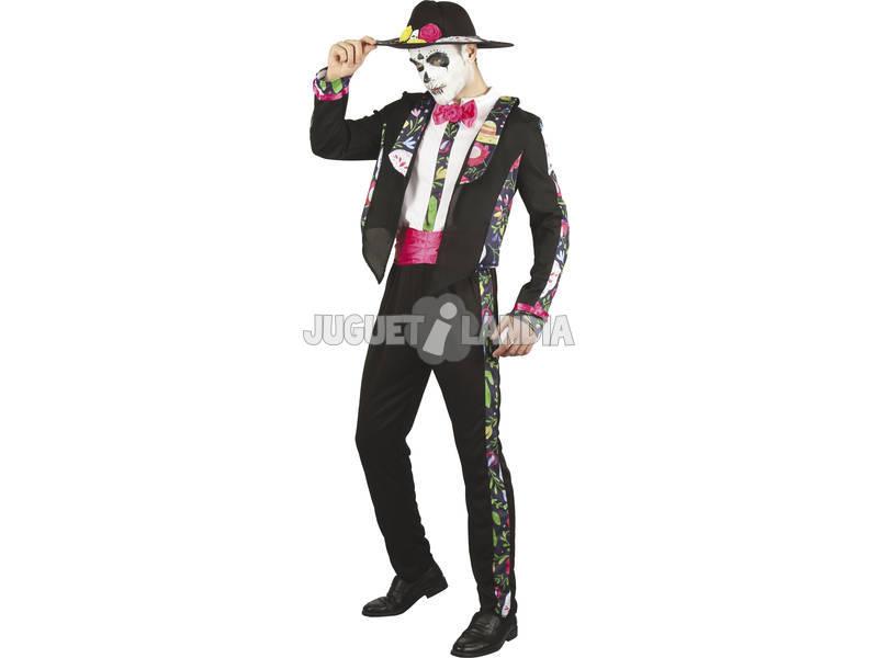Disfraz Día de los Muertos Hombre Talla L