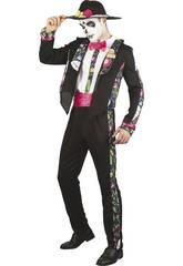 Disfraz Día de los Muertos Hombre Talla XL