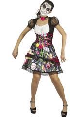 imagen Disfraz Adulto S Mujer Día de los Muertos