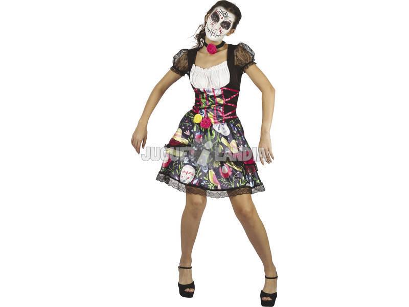Disfraz Adulto Día de los Muertos Talla L