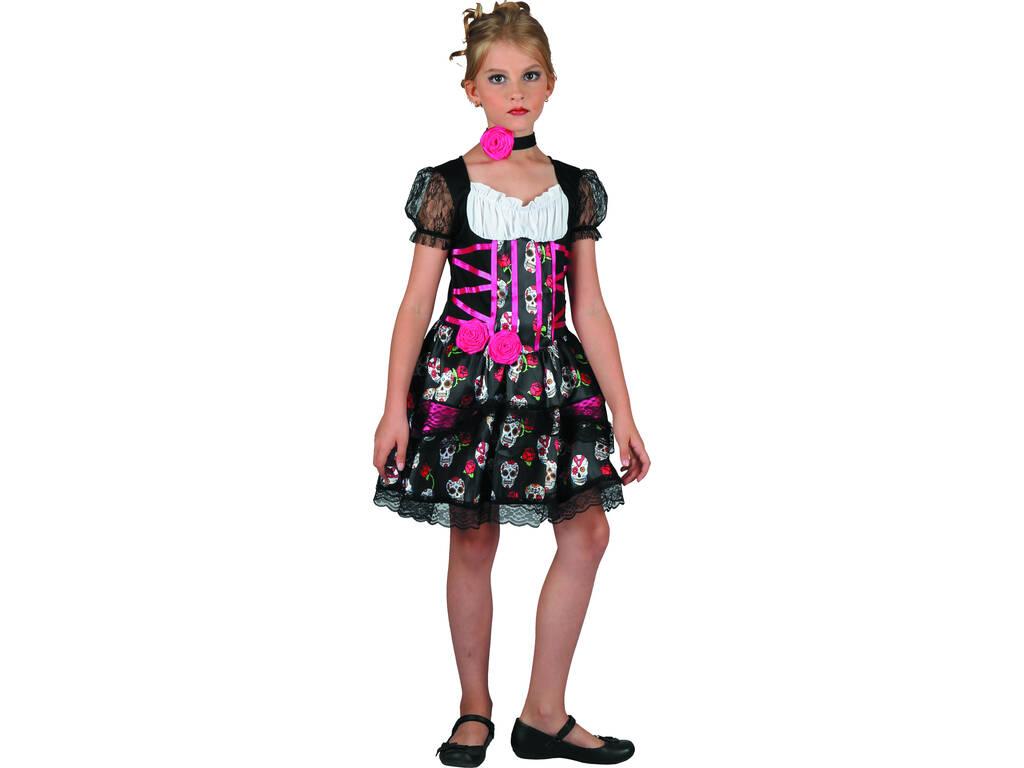 Disfraz Niña Día de los Muertos Talla L