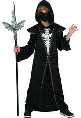 imagen Disfraz Niño Demonio Skeleton Talla M