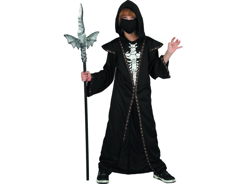 Costume Ragazzo Demone Scheletro L