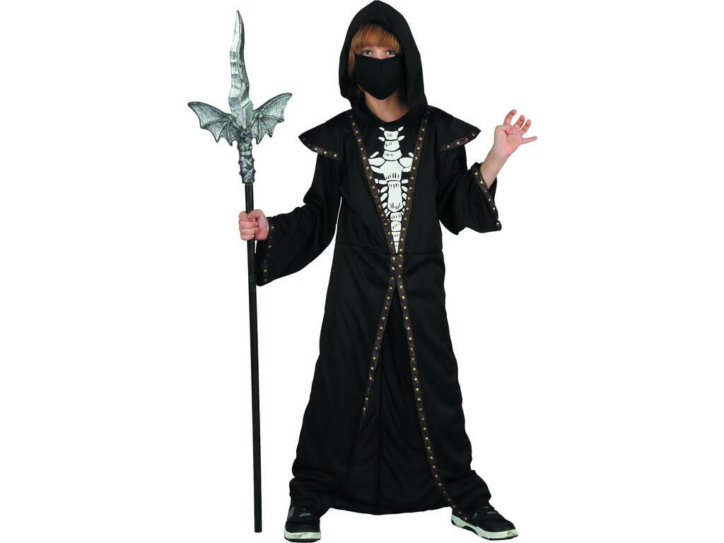 Disfarce Criança Demônio Skeleton Tamanho L
