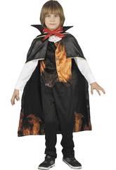 imagen Disfraz Niño Vampiro Infernal Talla S