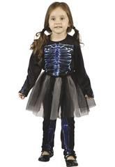 imagen Disfraz Bebé Esqueleta Rayos X Talla S
