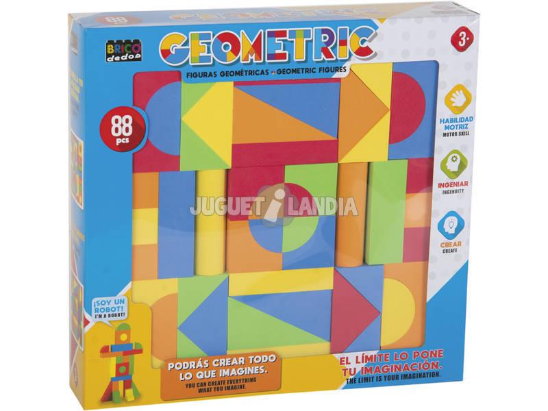 Set Figuras Geométricas 88 peças.