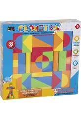 Set Geometrische Figuren 88 Teile.