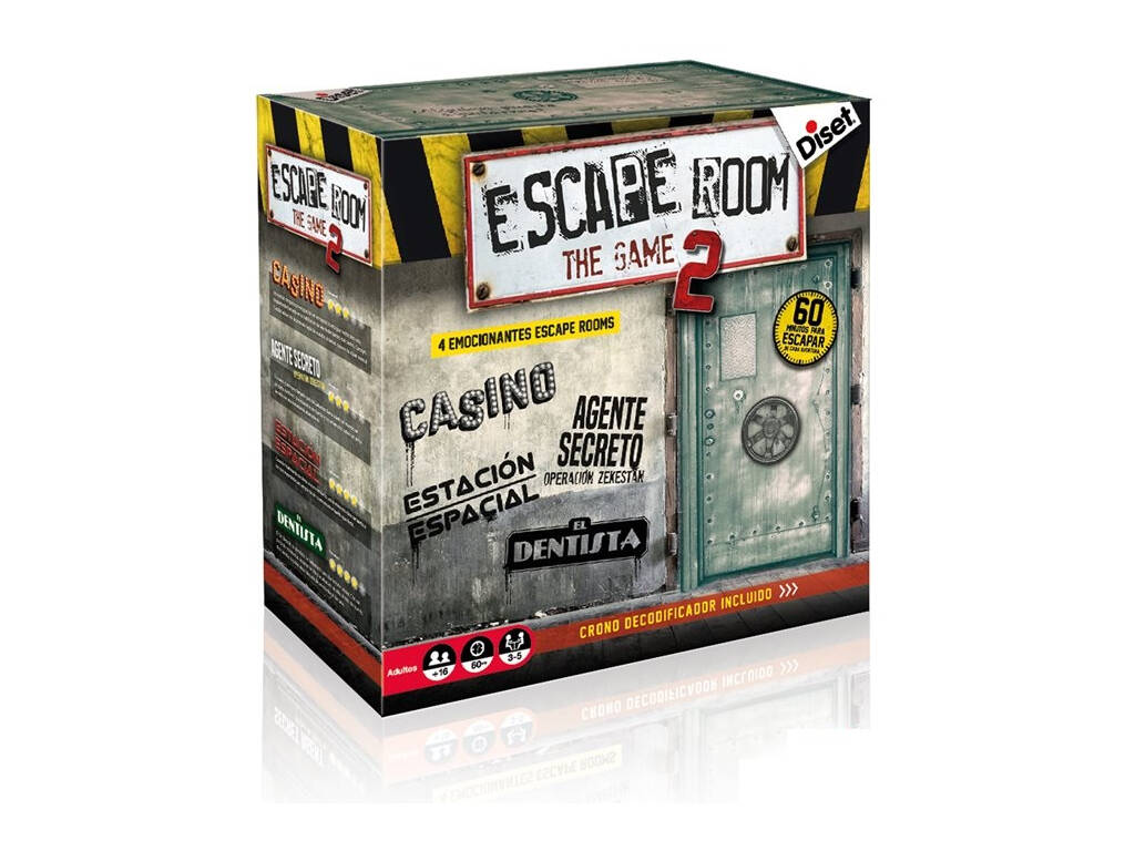 Escape Room The Game Diset 62326
