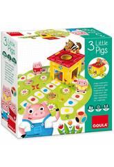 imagen Die 3 Schweinchen Kooperatives Spiel Diset 53146
