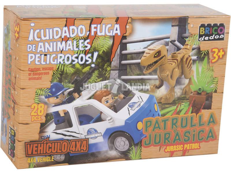 Blocos de Construção Dinossauros
