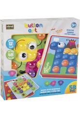 Puzzle Botones Encajables 58 piezas