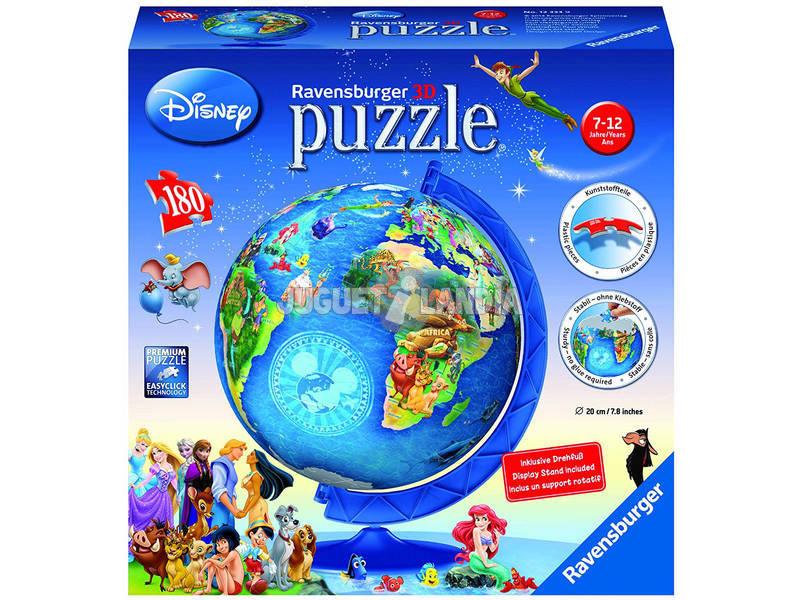 Disney Puzzleball 3D Globo Terraqueo 180 Piezas Ravensburger