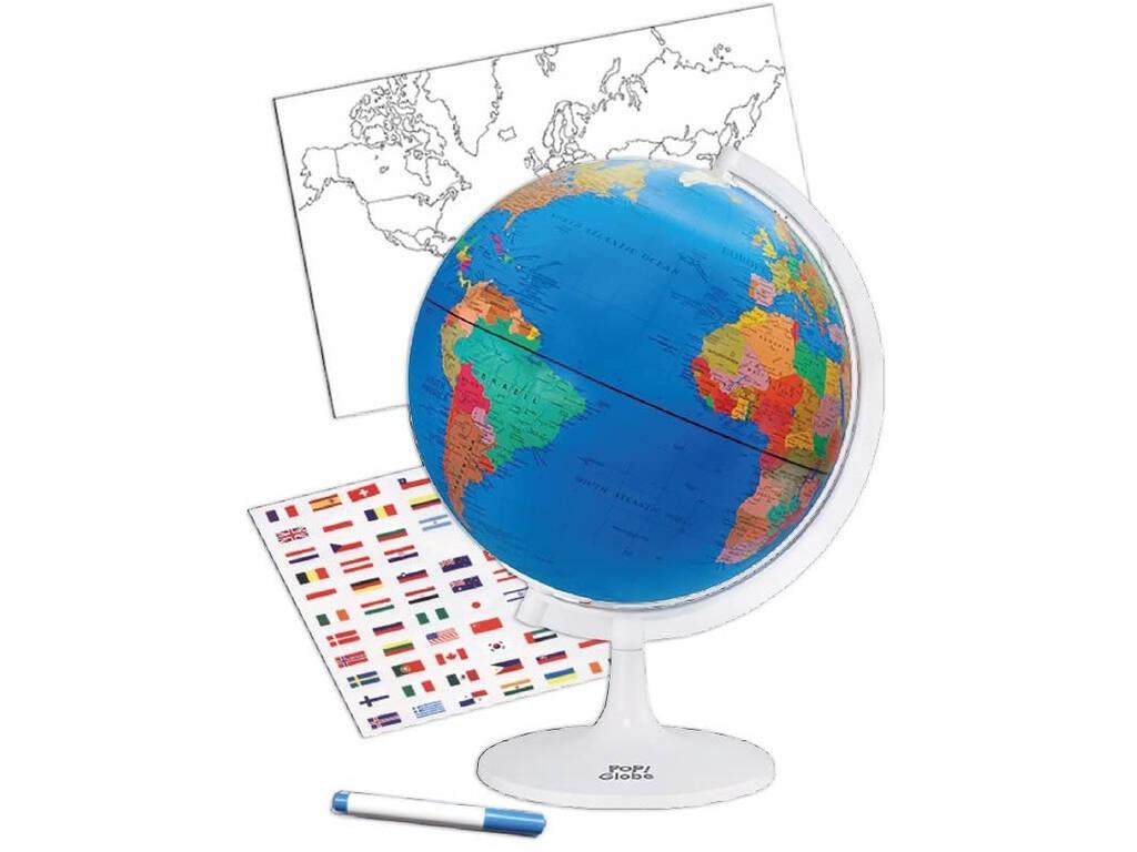 Globe Terrestre Politiqueen en Réalité Augmentée Cefa 21836