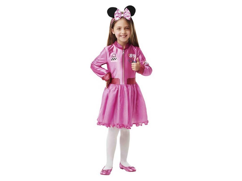 Disfraz Niña Minnie Mouse Roadster Classic Talla M Rubies 640906-M
