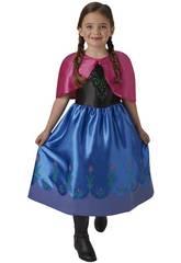Kostüm für Mädchen Anna Classic Größe S Rubies 620977-S