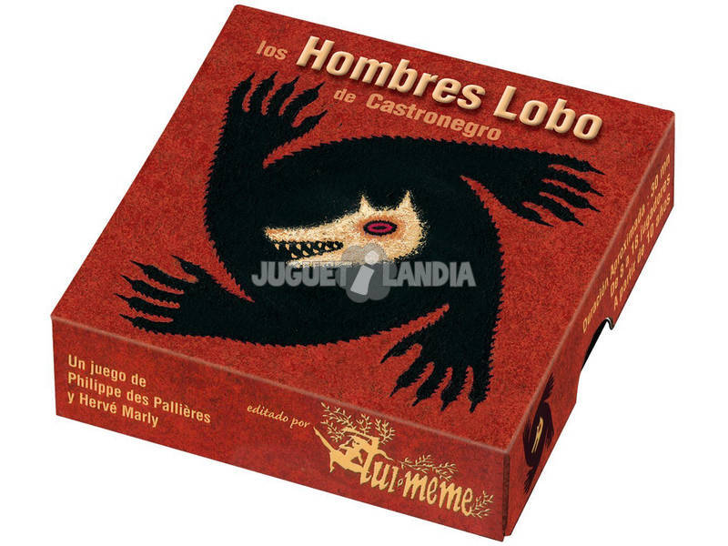Hombres Lobo de Castronegro Asmodee LOBO1BLES