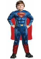 Disfraz Niño Superman Deluxe Talla M Rubies 640813-M
