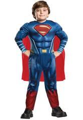 Déguisement Enfant Superman Deluxe Taille L Rubies 640813-L