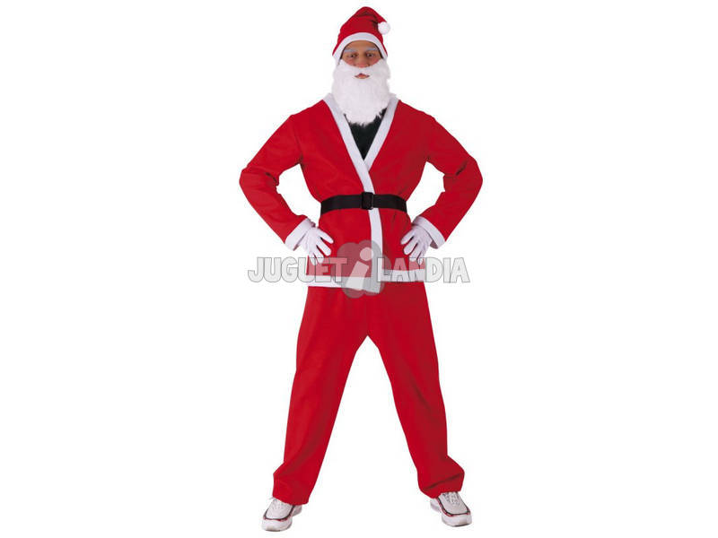Disfraz Adulto Papá Noel Classic Talla Única Rubies S8900