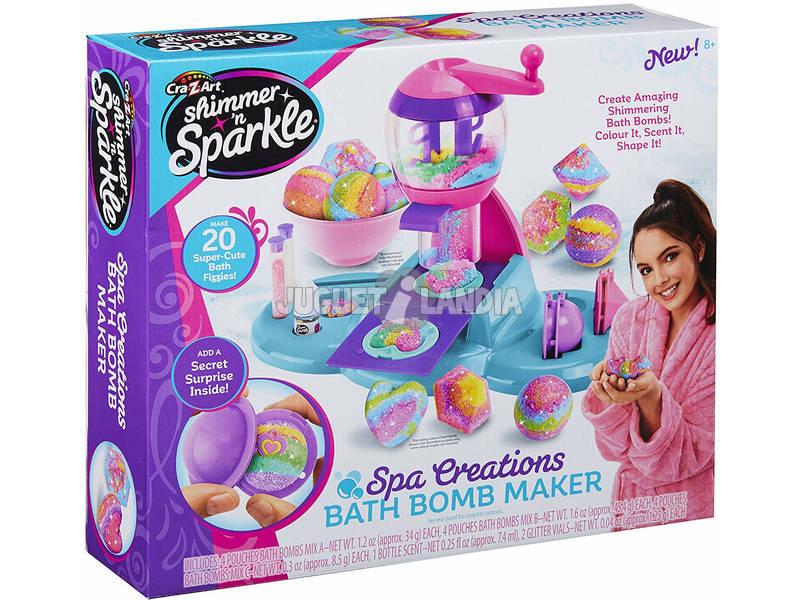 Shimmer N Sparkle Fábrica Bombas De Jabón Spa Color Baby 43938