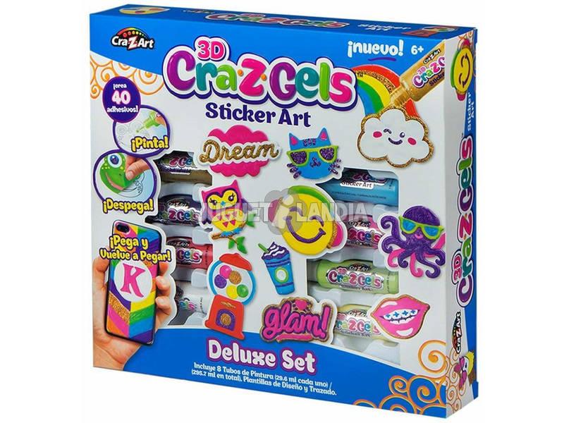 3D Craz-Z-Gels Decora il Tuo Mondo Pack Deluxe Color Baby 43922