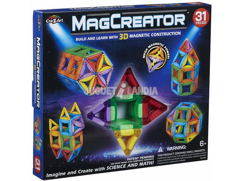 Magcreator Construye en 3D 31 Piezas color Baby 44805