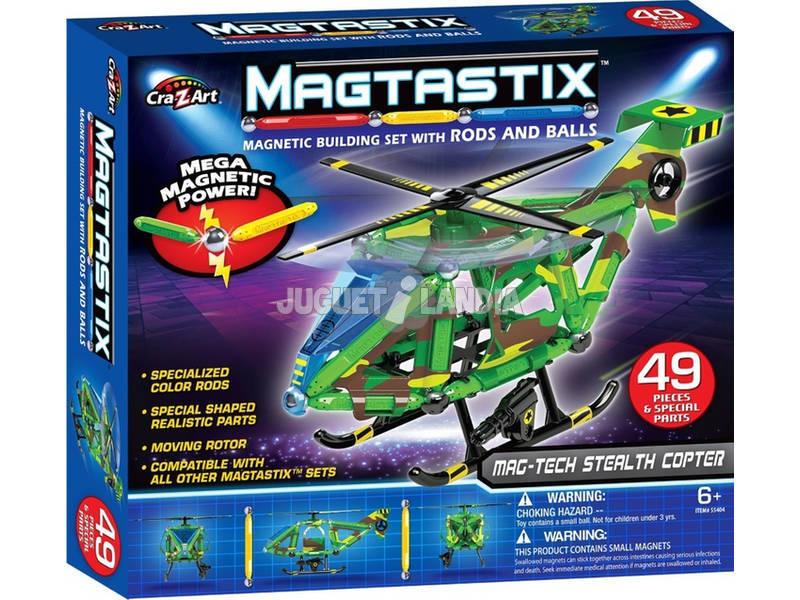 Magtastix Set Vehículo Mag-Tech Color Baby 44809