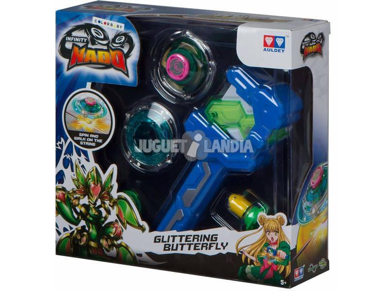 Infinity Nado Peonzas con Lanzador Color Baby 43917