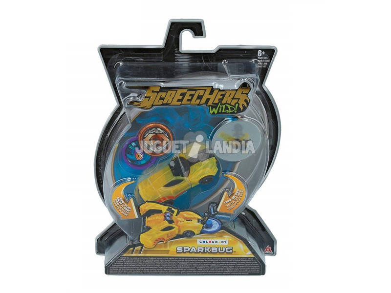 Screechers Wild Figuras Transformables Series 1.0 Color Baby 43977