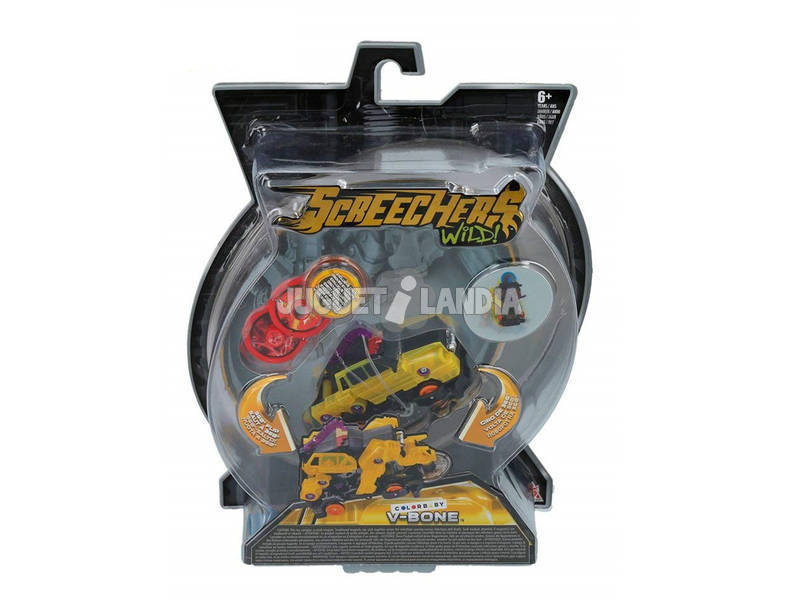 Screechers Wild Figuras Transformables Series 2.3 Color Baby 43980
