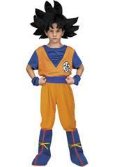 Déguisement Enfants M Je veux être Goku!