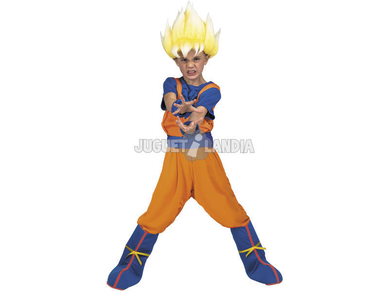 Costume Bimbo M Dragon Ball Super Yo Quiero Ser Goku Super Saiyan